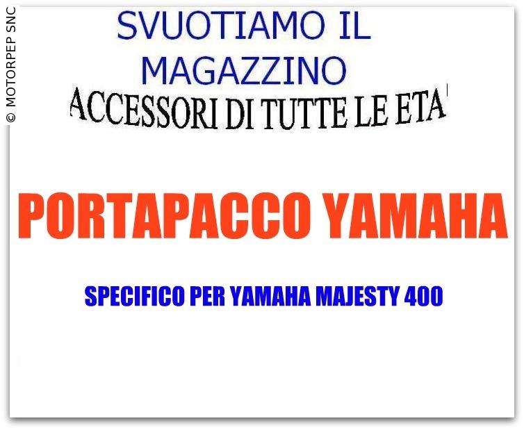 YAMAHA – Portapacchi