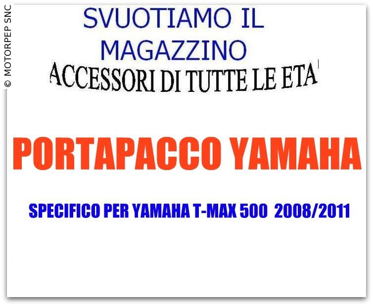 YAMAHA – Portapacchi t-max 500