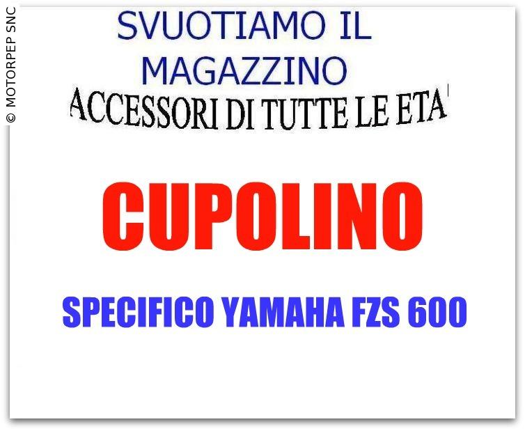 Yamaha cupolino/parabrezza