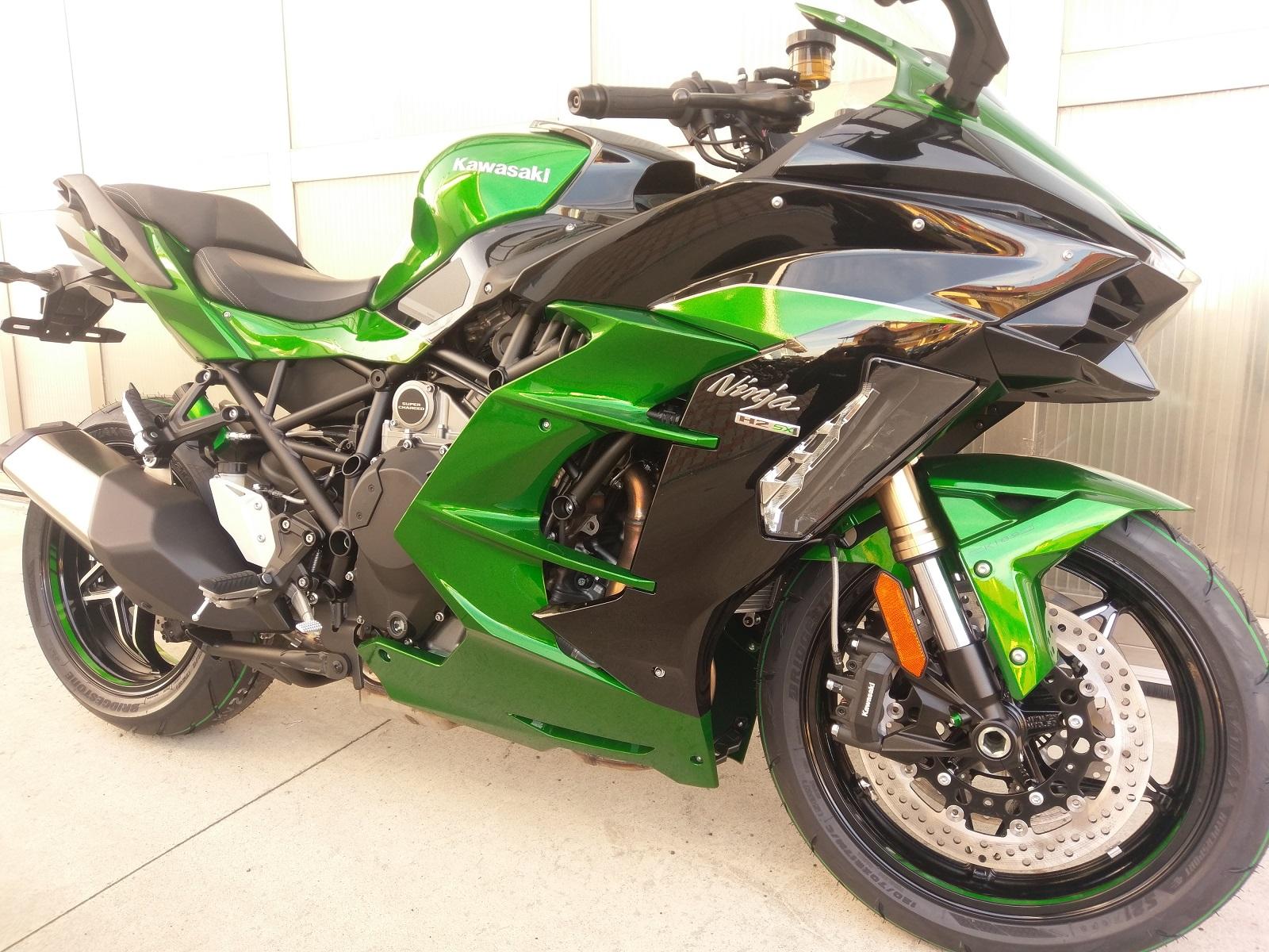 Kawasaki Ninja h2 sx se aziendale km0