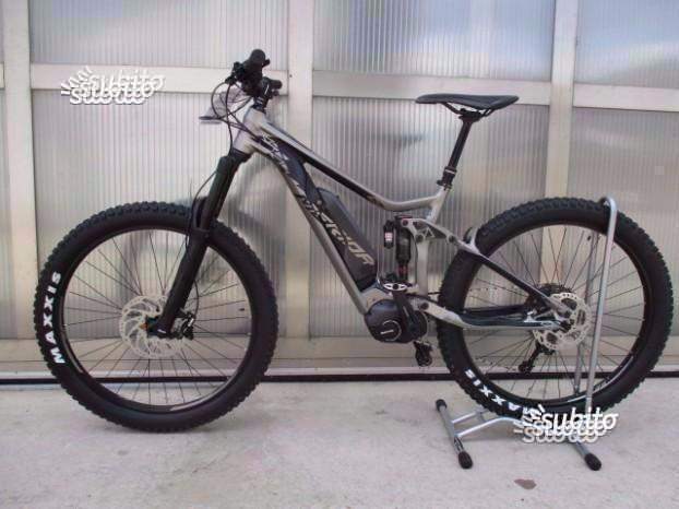 Bici Merida E-one sixty 800 2018 motore Shimano Steps e800 batteria 500 Wh