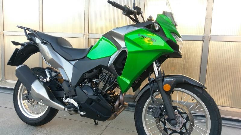 Kawasaki Versys-X 300 usata DEMO