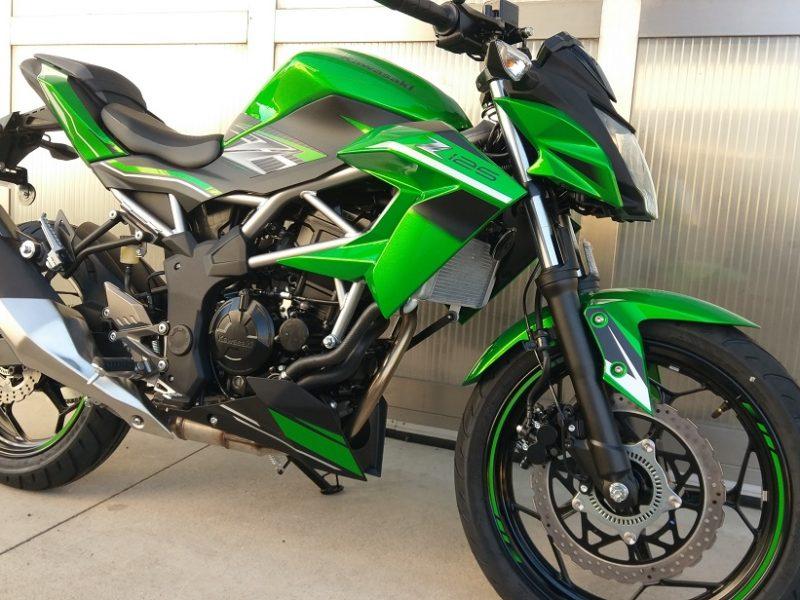 Kawasaki Z 125 Km 0 Verde