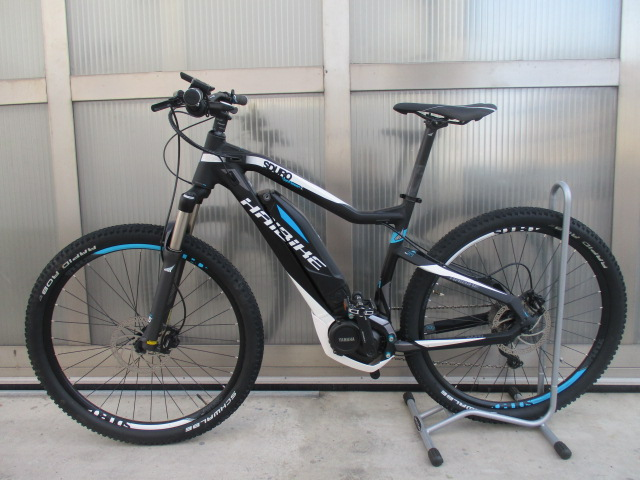 Haibike Sduro HardSeven SL usata motore Yamaha Pw batteria 400 Wh