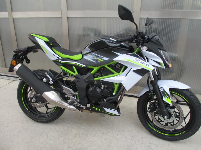 Kawasaki z125 usata km1